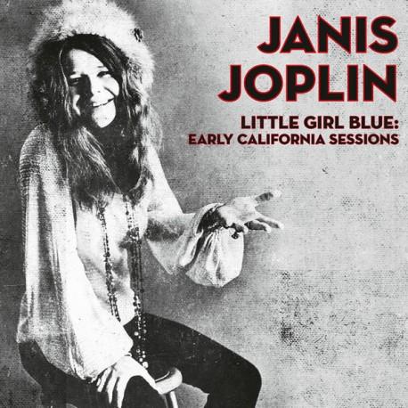 Vinyl Janis Joplin Little Girl Blue Album Lp Early