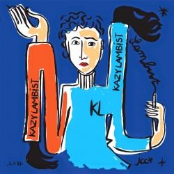 Kazy Lambist - Exposition Dessin-Destin Montpellier - EP vinyl 12 inches - Disquaire Day