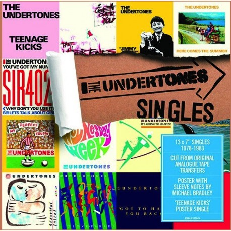 The Undertones ‎– Singles - Boxset vinyls 7 inches 45 rpm - Disquaire Day 2018