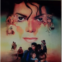 Michael Jackson ‎- Earth Song - LP Vinyl Album Picture Disc
