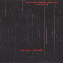 Karlheinz Stockhausen – Beton-Studie - Zeitmass Fur Funf Holzblaser - Klavierstuck XI - LP Vinyl Album