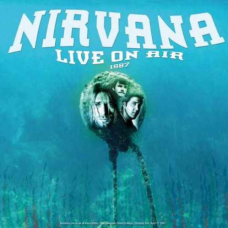 Nirvana – Best of Live On Air 1987  -LP Vinyl Album