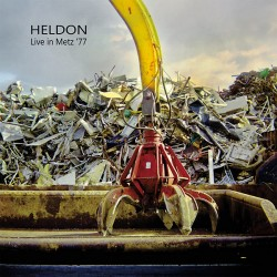 Heldon ‎– Live In Metz 77 - LP Vinyl Album