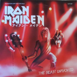Iron Maiden ‎– The Beast Unmasked - LP Vinyl Album Coloured