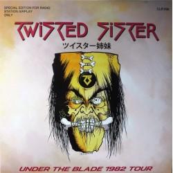 Twisted Sister – Under The Blade 1982 Tour - LP Vinyl Album Coloured