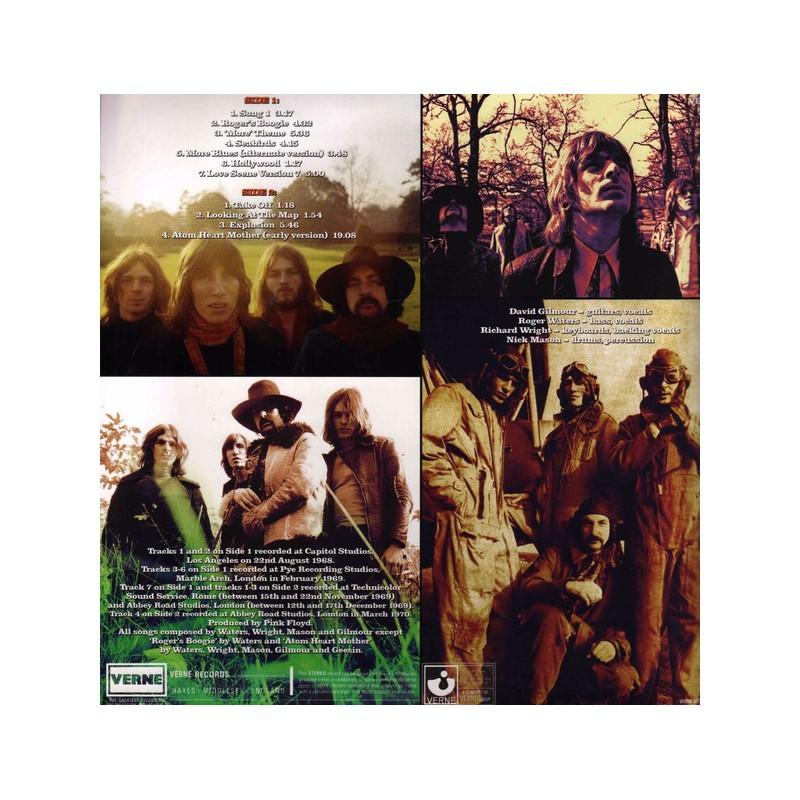Vinyl Pink Floyd Explosion Studio Sessions Album Lp 1968