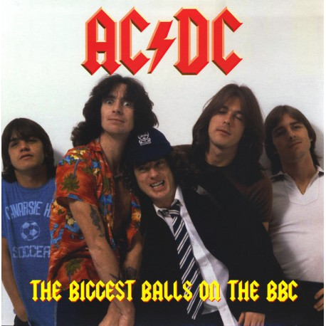 AC/DC – The Biggest Balls On The BBC - Double LP Vinyl Coloured