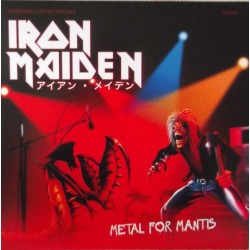 Iron Maiden ‎– Metal For Mantis - LP Vinyl Album