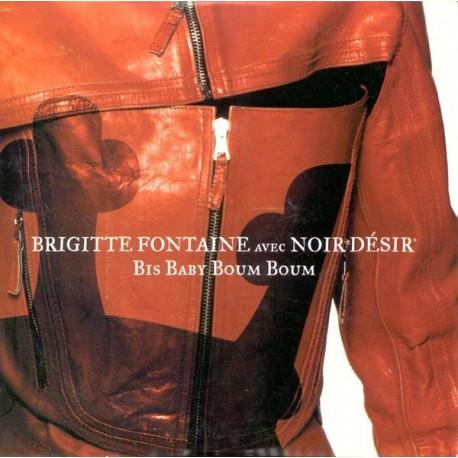 Brigitte Fontaine Avec Noir Désir – Bis Baby Boum Boum - CD Single Promo