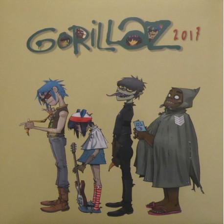 Gorillaz - 2017 - LP Vinyl Album Gatefold