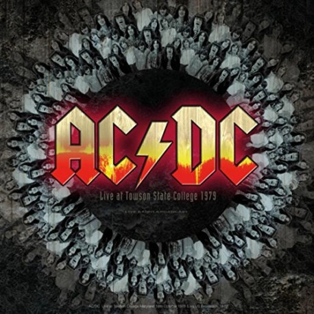 AC/DC ‎– Best of Live At Towson State College 1979 Live Radio Broadcast - LP Vinyl Album