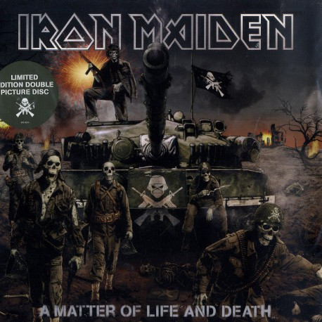 Iron Maiden – A Matter Of Life And Death - Double LP Vinyl Album