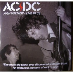 AC/DC ‎– High Voltage - Live In 75 - Double LP Vinyl Album - Coloured Blue - Limited Edition Numbered