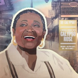 Calypso Rose ‎– So Calypso! - Double LP Vinyl album 10 inches 25cm