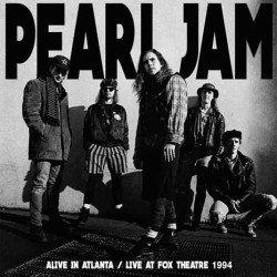 Pearl Jam ‎– Alive In Atlanta - Live At Fox Theatre 1994 - Double LP Vinyl Album Coloured Blue