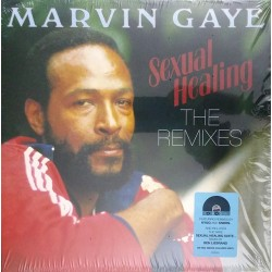 Marvin Gaye ‎– Sexual Healing - The Remixes - Coloured Red Vinyl Maxi 12 inches