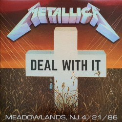 Metallica ‎– Deal With It - LP Vinyl Album Coloured