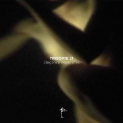 Trisomie 21 ‎– Elegance Never Dies - LP Vinyl Album Coloured White