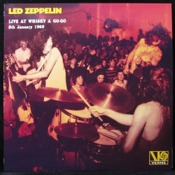 Led Zeppelin ‎– Live At Whisky A Go-Go 5th January 1969 - LP Vinyl Album