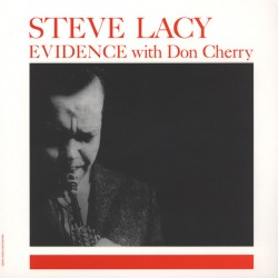 Steve Lacy With Don Cherry ‎– Evidence - LP Vinyl Album Numbered