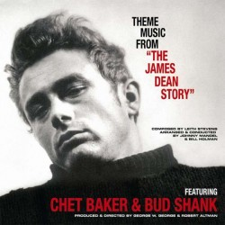 "Chet Baker & Bud Shank ‎– Theme Music From ""The James Dean Story"" - LP Vinyl Album"
