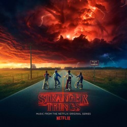 Stranger Things - Seasons 1&2 - Netflix - Double LP Vinyl Album + Poster + Sticker