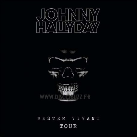 Johnny Hallyday - Rester Vivant Tour Live Audio - Triple LP Vinyl Album Deluxe Edition Gatefold