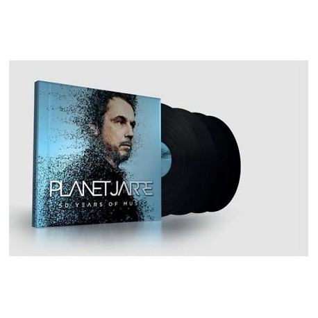 Jean Michel Jarre - Planet Jarre - Quadruple Vinyl - 4 LP  + MP3