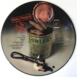 The Rolling Stones ‎– Sticky Fingers - LP Vinyl Album Picture Disc