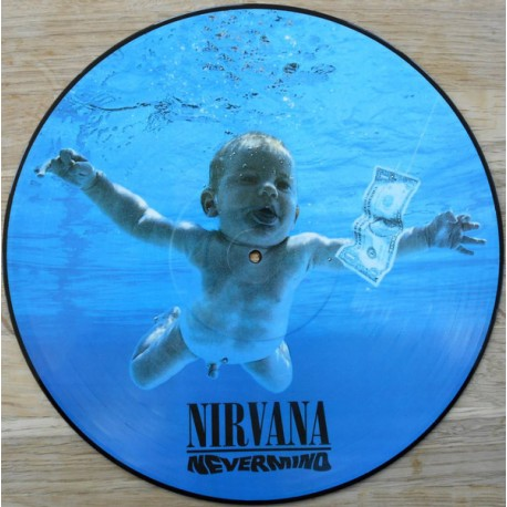 Nirvana – Nevermind - LP Vinyl Album Picture Disc Edition