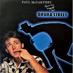 Paul McCartney (The Beatles) ‎– Give My Regards To Broad Street - LP Vinyl Album