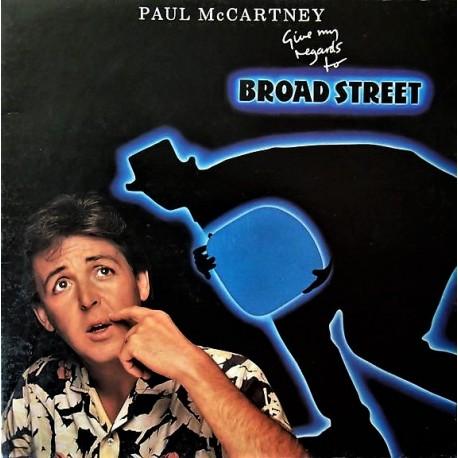 Paul McCartney (The Beatles) – Give My Regards To Broad Street - LP Vinyl Album