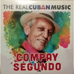 Compay Segundo ‎– The Real Cuban Music- Double LP Vinyl Album