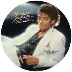 Michael Jackson ‎– Thriller - LP Vinyl Album Picture Disc