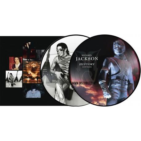 Michael Jackson - HIStory Continues - Double LP Vinyl Album - Picture Disc Edition