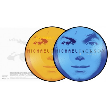 Michael Jackson - Invincible - Double LP Vinyl Album Picture Disc Edition