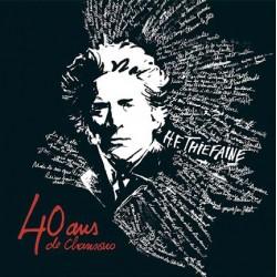 Hubert-Félix Thiéfaine - 40 ans de chansons - Quadruple LP Vinyl - 4 Disques Gatefold