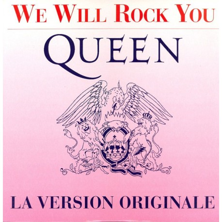 Queen – We Will Rock You - La Version Originale - Maxi 12 inches