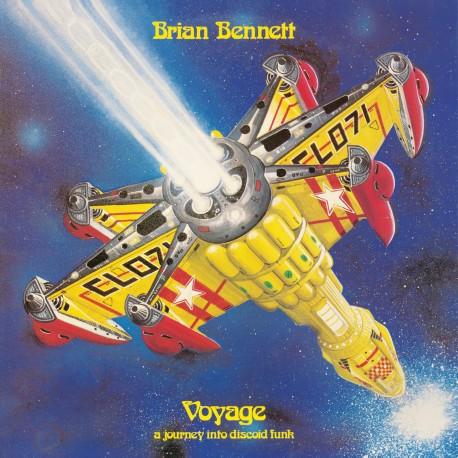 Brian Bennett – Voyage - A Journey Into Discoid Funk - LP Vinyl Album Gatefold UK