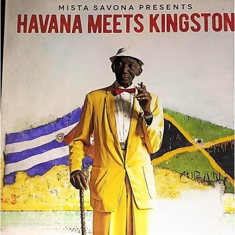 Mista Savona – Mister Savona Presents Havana Meets - Double LP Vinyl Album + MP3