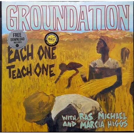 Groundation – Each One Teach One - Double LP Vinyl Album + MP3