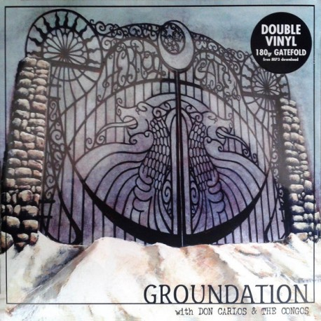 Groundation With Don Carlos & The Congos ‎– Hebron Gate - Double LP Vinyl Album + Free MP3
