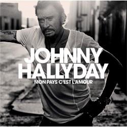 Johnny Hallyday - Mon pays c'est l'amour - LP Vinyl Album