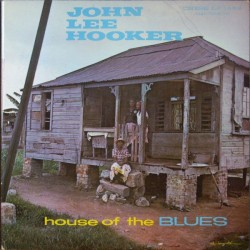 John Lee Hooker ‎- House Of The Blues - LP Vinyl Album