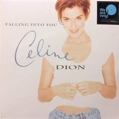 Celine Dion ‎– Falling Into You - Double LP Vinyl Album + Free Download MP3