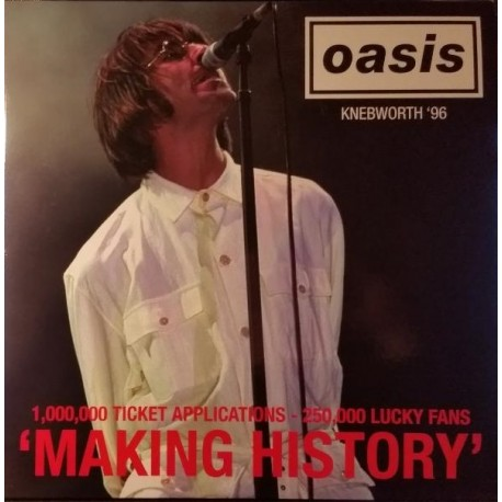 Oasis – Making History - Live At Knebworth 96 - Double LP Vinyl Album Coloured