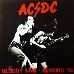 AC/DC ‎– Bloody Live - Reading '76 - LP Vinyl Album Coloured