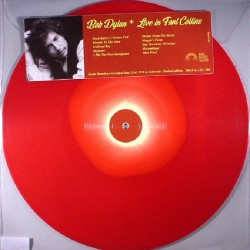 Bob Dylan ‎– Live In Fort Collins - LP Vinyl Album Coloured