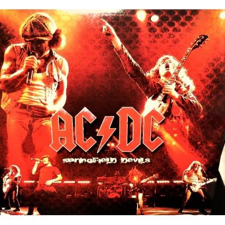 AC/DC – Springfield Devils - LP Vinyl Album Coloured