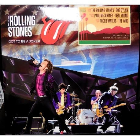 The Rolling Stones – Got To Be A Joker - LP Vinyl Album Coloured Red